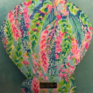 Lilly Pulitzer Make-Up Brushes with Case - NEW!!!